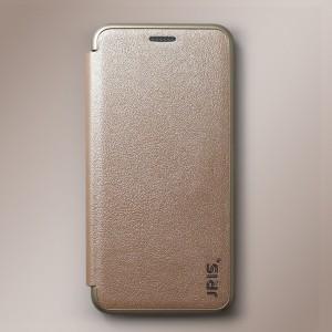 Bao da Samsung Galaxy J6 2018 hiệu JRIS (vàng Champagne)
