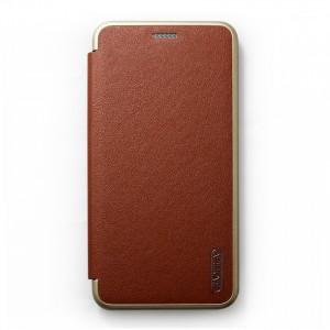 Bao da Samsung Galaxy J6 Plus hiệu BaoLiLai (Nâu)