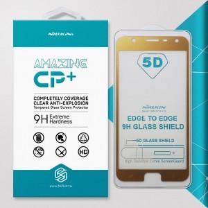 Miếng dán cường lực Samsung Galaxy J7 Duo hiệu Nillkin Full Keo (Vàng)