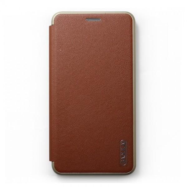 Bao da Samsung Galaxy J7 Plus hiệu BaoLiLai (Nâu)