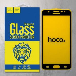 Miếng dán cường lực Samsung Galaxy J7 Prime hiệu HOCO Full màn hình (Đen)