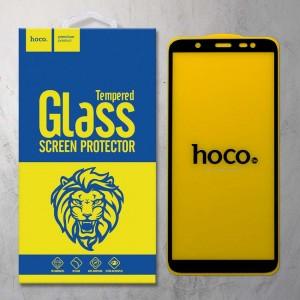 Miếng dán cường lực Samsung Galaxy J8 2018 hiệu HOCO Full màn hình (Đen)