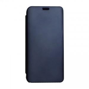 Bao da Samsung Galaxy M10 Clear View tráng gương (Đen)