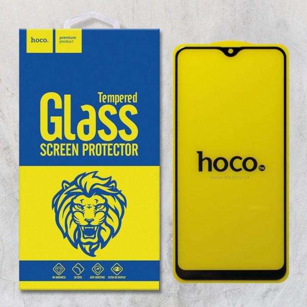 Miếng dán cường lực Samsung Galaxy M10 hiệu HOCO Full Keo (Đen)