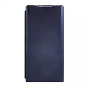 Bao da Samsung Galaxy Note 10 Plus Clear View tráng gương (Đen)