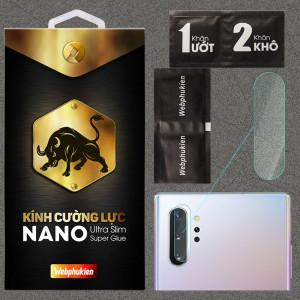 Kính dán cường lực Camera cho Samsung Galaxy Note 10 Plus chính hãng Web Phụ Kiện
