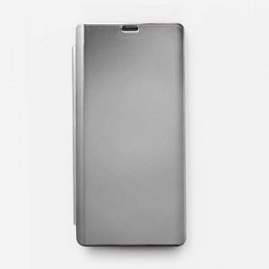 Bao da Samsung Galaxy Note 9 Clear View tráng gương (Bạc)