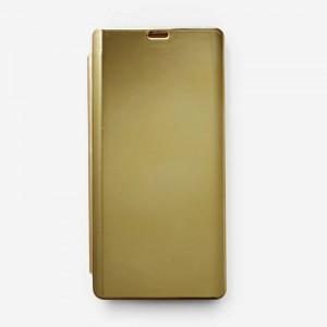 Bao da Samsung Galaxy Note 9 Clear View tráng gương (Vàng)