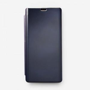 Bao da Samsung Galaxy Note 9 Clear View tráng gương (Xanh Navy)