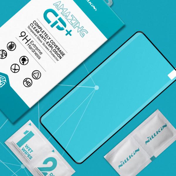 Miếng dán cường lực Samsung Galaxy S21 Ultra hiệu Nillkin Full (Đen)