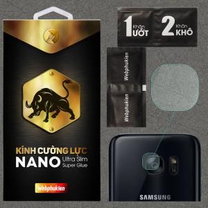 Kính dán cường lực Camera Samsung Galaxy S7 chính hãng Web Phụ Kiện