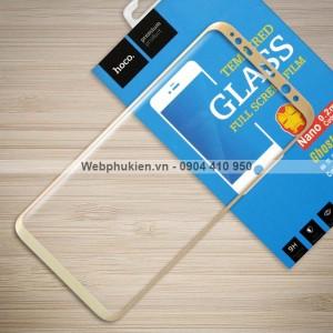 Miếng dán cường lực Samsung Galaxy S8 Plus hiệu HOCO Full (Vàng)