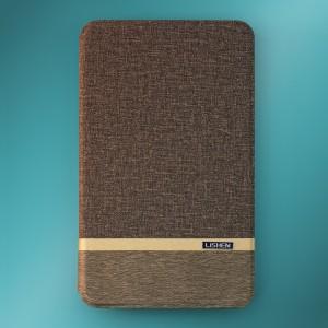 Bao da Samsung Galaxy Tab A 8.0 2017 T385 hiệu Lishen (Xám)