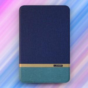 Bao da Samsung Galaxy Tab E 9.6 T561 hiệu Lishen (xanh dương)