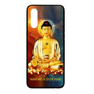 Ốp lưng kính in hình cho Samsung Galaxy A70s hình tượng phật (mẫu 9) - Hàng chính hãng