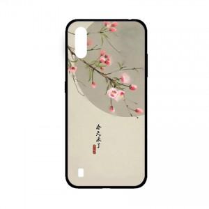 Ốp lưng kính in hình cho Samsung A01  hình phong cảnh (mẫu 41) - Hàng chính hãng