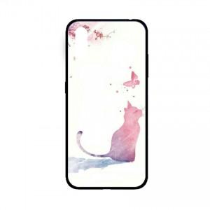 Ốp lưng kính in hình cho Samsung A01  hình phong cảnh (mẫu 49) - Hàng chính hãng
