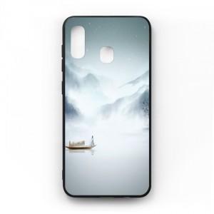 Ốp lưng kính in hình cho Samsung Galaxy A20, M10s Phong Cảnh (mẫu 40) - Hàng chính hãng
