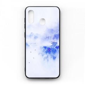 Ốp lưng kính in hình cho Samsung Galaxy A20, M10s Phong Cảnh (mẫu 42) - Hàng chính hãng