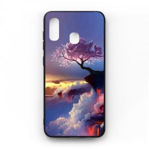 Ốp lưng kính in hình cho Samsung Galaxy A20, M10s Phong Cảnh (mẫu 44) - Hàng chính hãng