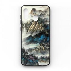 Ốp lưng kính in hình cho Samsung Galaxy A20, M10s Phong Cảnh (mẫu 48) - Hàng chính hãng