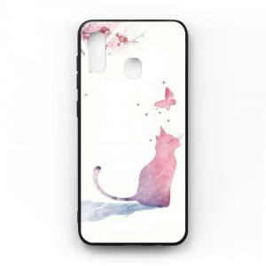 Ốp lưng kính in hình cho Samsung Galaxy A20, M10s Phong Cảnh (mẫu 49) - Hàng chính hãng
