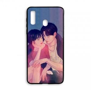 Ốp lưng kính in hình cho Samsung Galaxy A20s Valentine (mẫu 54) - Hàng chính hãng