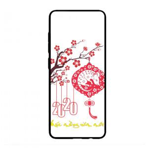 Ốp lưng kính in hình cho Samsung A51  Tết Mùa Xuân  (mẫu 47) - Hàng chính hãng