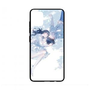 Ốp lưng kính in hình cho Samsung A51  Valentine  (mẫu 4) - Hàng chính hãng