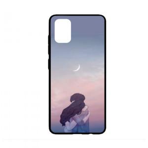 Ốp lưng kính in hình cho Samsung A51  Valentine  (mẫu 5) - Hàng chính hãng