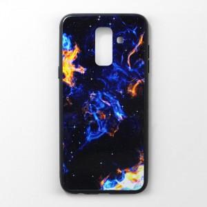 Ốp lưng Samsung Galaxy A6 Plus vân nổi 3D (mẫu 5)