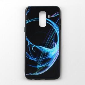 Ốp lưng Samsung Galaxy A6 Plus vân nổi 3D (mẫu 6)
