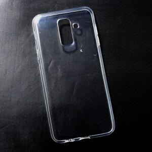 Ốp lưng Samsung Galaxy A6 Plus dẻo (trong suốt)