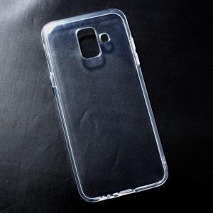 Ốp lưng Samsung Galaxy A6 2018 dẻo (trong suốt)