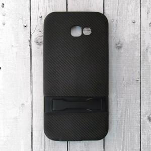 Ốp lưng vân Carbon cho Samsung Galaxy A7 2017 (Đen)