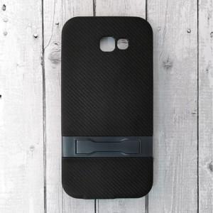 Ốp lưng vân Carbon cho Samsung Galaxy A7 2017 (Xanh)