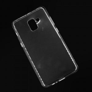 Ốp lưng Samsung Galaxy A7 2018 dẻo (trong suốt)