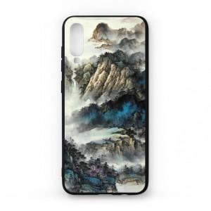Ốp lưng kính in hình cho Samsung Galaxy A70 hình Phong Cảnh (mẫu 48) - Hàng chính hãng