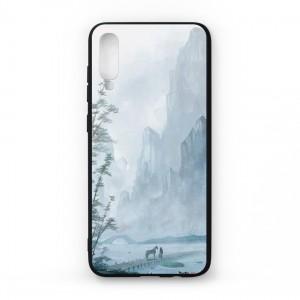 Ốp lưng kính in hình cho Samsung Galaxy A70 hình Phong Cảnh (mẫu 50) - Hàng chính hãng