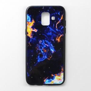 Ốp lưng Samsung Galaxy A6 2018 vân nổi 3D (mẫu 5)
