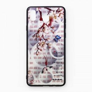 Ốp lưng hoa văn cho Samsung Galaxy A8 Star - mẫu 2