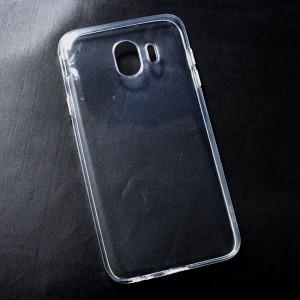 Ốp lưng Samsung Galaxy J4 2018 dẻo (trong suốt)