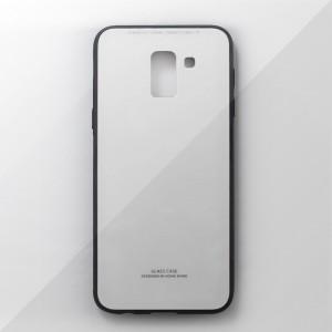 Ốp lưng Samsung Galaxy J6 2018 tráng gương viền dẻo (Trắng)