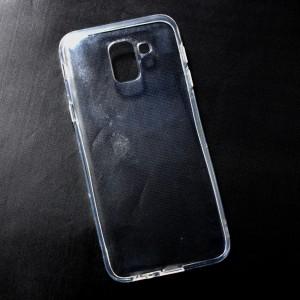 Ốp lưng Samsung Galaxy J6 2018 dẻo (trong suốt)