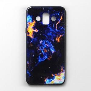 Ốp lưng Samsung Galaxy J7 Duo vân nổi 3D (mẫu 5)