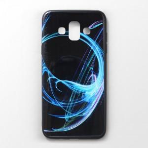 Ốp lưng Samsung Galaxy J7 Duo vân nổi 3D (mẫu 6)