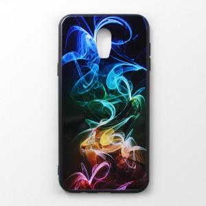 Ốp lưng Samsung Galaxy J7 Plus vân nổi 3D (mẫu 4)