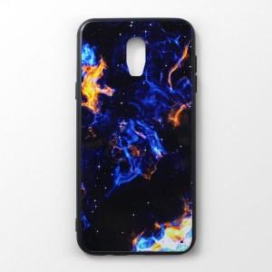 Ốp lưng Samsung Galaxy J7 Plus vân nổi 3D (mẫu 5)