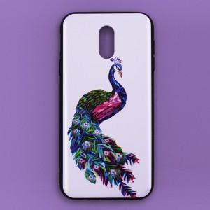 Ốp lưng Samsung Galaxy J7 Pro in 3D (con công 2)