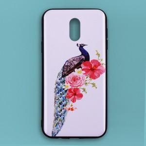 Ốp lưng Samsung Galaxy J7 Pro in 3D (con công 4)